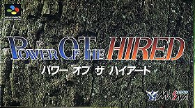 Power of the Hired (JP)
