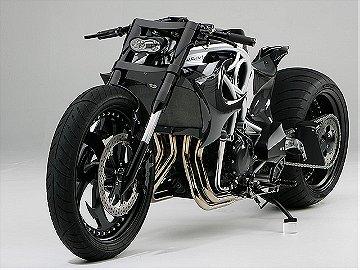 SUZUKI GSX-R HAYABUSA SERPENT BY RANSOM MOTORCYCLE