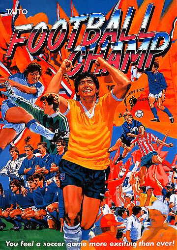 Football Champ-Taito