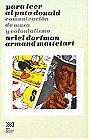 Para Leer Al Pato Donald (Spanish Edition)