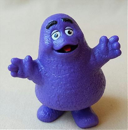 1980s McDonald's Grimace Toy
