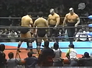 Jumbo Tsuruta & Genichiro Tenryu vs. The Road Warriors (AJPW, 03/12/87)
