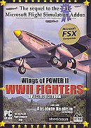 Wings of Power II: WWII Fighters (FSX Add-on)
