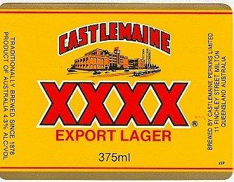 Castlemaine XXXX