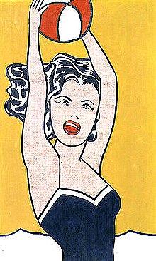 Roy Lichtenstein: Girl with Ball (1961)