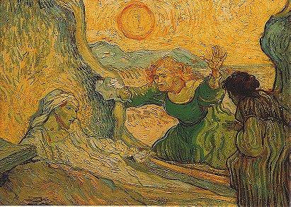 Vincent van Gogh: The Raising of Lazarus (1890)