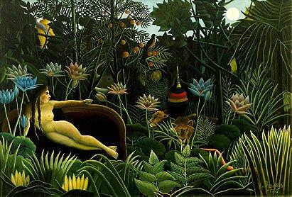 Henri Rousseau: The Dream (1910)
