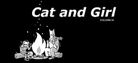 Cat and Girl Webcomic