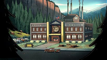 Gravity Falls High School