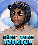 Officer Warren Barksdale