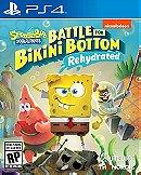 Spongebob Squarepants Battle for Bikini Botton Rehydrated - Playstation 4