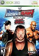 WWE SmackDown vs. Raw 2008 - Xbox 360