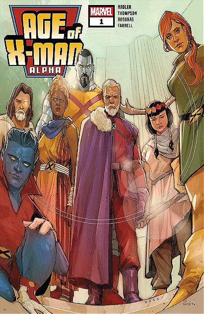 Age Of X-Man Alpha