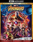 Avengers: Infinity War (4K Ultra HD + Blu Ray + Digital)