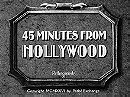 45 Minutes from Hollywood