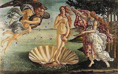 The Birth of Venus (Botticelli) 1486
