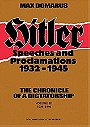 Hitler: Speeches and Proclamations