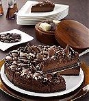 Belgian Chocolate Truffle Cheesecake