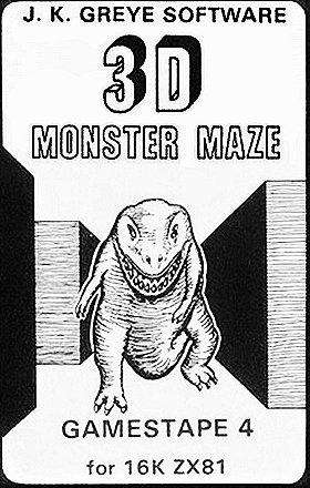 3D Monster Maze