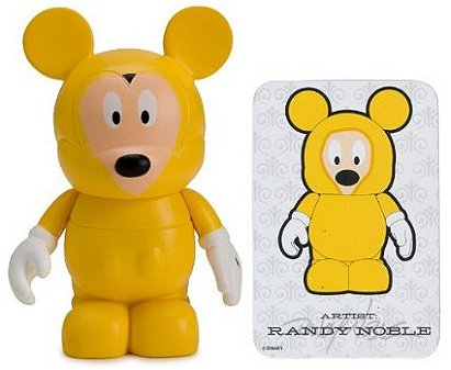 Park Vinylmation Series 2: Mickey Mouse in Rain Poncho