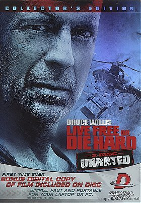 Live Free or Die Hard - 2-Disc Widescreen Unrated Edition (Exclusive Steel Book)