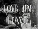 Love on Leave