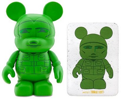 Toy Story Vinylmation Series 1: Green Army Man