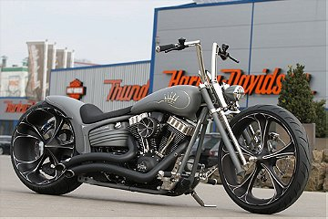 Harley Davidson Thunderbike Nickel Rocker