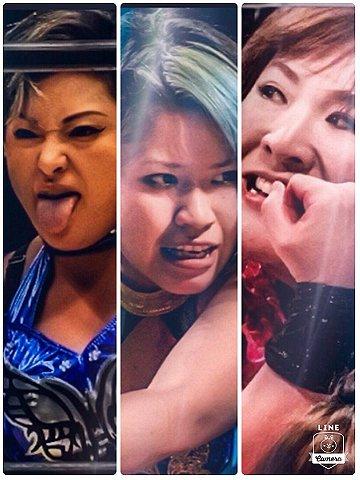 Ayako Hamada vs. Misaki Ohata vs. Arisa Nakajima