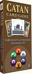 Catan Card Game Barbarians & Traders Upgrade Kit Expansion