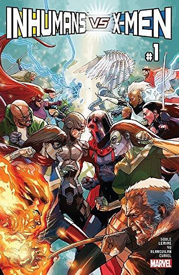 Inhumans vs. X-Men (2017)