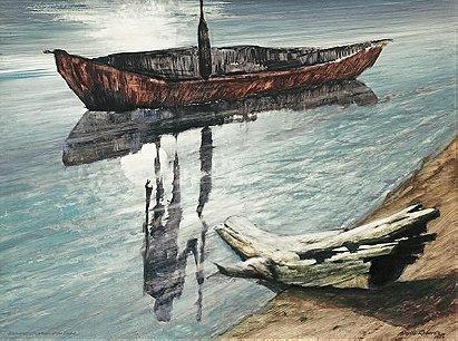 Wuluwait, Boatman of the Dead