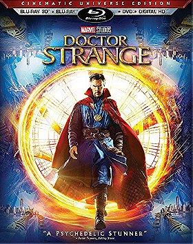 Doctor Strange (Blu-ray 3D + Blu-ray + DVD + Digital HD) (Cinematic Universe Edition)