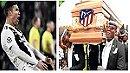 CRISTIANO RONALDO VS ATLETICO MADRID | Funeral Meme