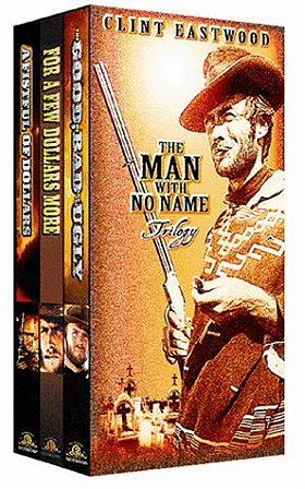 The Man with No Name Trilogy (A Fistful of Dollars, For A Few Dollars More, The Good, the Bad, and t