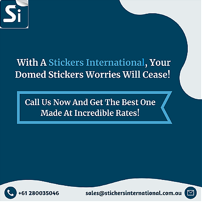 Circle Domed Stickers