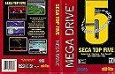 Sega Top Five - Mega Drive