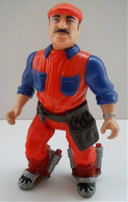 1993 ERTL Super Mario Bros: The Movie - Mario Action Figure