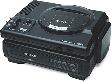 Sega CD Video Game System Console