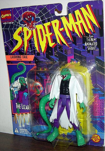 Spider-Man The Animated Series: Lizard (Black Shirt) Action Figure