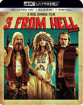 3 From Hell (4K Ultra HD + Blu-ray + Digital) (Unrated)