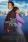 Two Weeks Notice