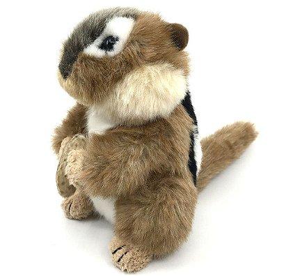 The Stuffed Animal House 6 Inch Northern Wildlife Chipmunk