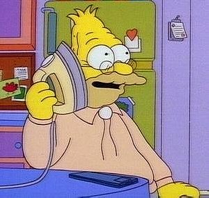 Grampa Abe Simpson