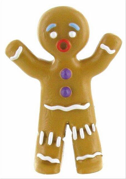 Bullyland Shrek 'Gingy' Gingerbread Man PVC toy