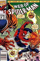 Web of Spiderman: The Name of the Rose (Part 3 of 6)  January 1992