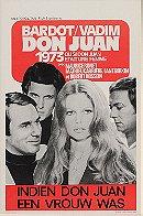 Don Juan, or If Don Juan Were a Woman