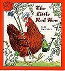 The Little Red Hen (Easy Reading Books)