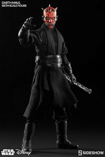 Sideshow Star Wars Episode I The Phantom Menace Darth Maul: Duel on Naboo 1/6 Scale Figure