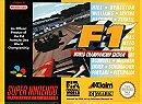 F1 World Championship Edition - SNES
